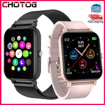 Bluetooth Call Smart Watch Men Full Touch Screen Blood Pressure Smartwatch Women Heart Rate Monitor Fitness Tracker Sport
