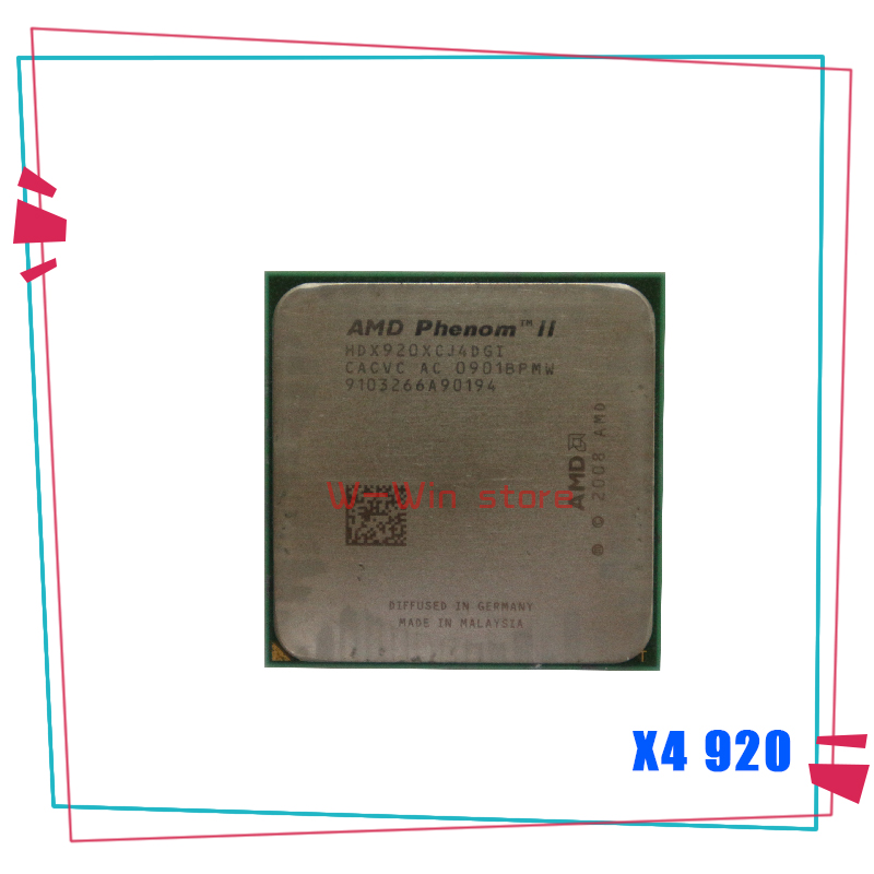 Amd Phenom Ii X4 920 2 8 Ghz Quad Core Cpu Processor Hdx920xcj4dgi Socket Am2 Contact To Sell X4 940 Cpus Aliexpress
