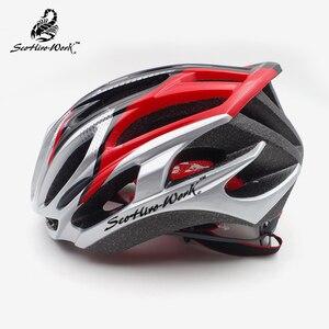 Image 2 - Ultraleicht In Mold fahrrad helm für männer frauen straße mtb mountainbike helme aero radfahren helm ausrüstung Casco Ciclismo M L