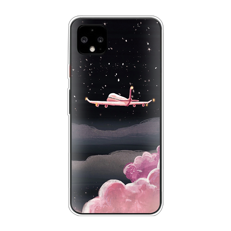 Luxury Popular Planes Map Designs Phone Case For Google Pixel 4 3A XL TPU Soft Silicone Coque For Google Pixel 3 2 XL Cover Etui