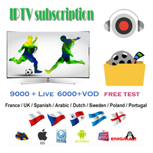 Stable IPTV Italy Europe M3U France Spain Subscription German Poland UK portugal for Android 9.0 TV Box