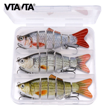 3pcs Sinking Wobblers For Pike Fishing Lure Set 10cm 17g