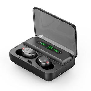 Image 4 - 新しい F9 5 Bluetooth 5.0 TWS イヤホンデジタルディスプレイヘッドセットタッチボタン LED ワイヤレスイヤホン真フォンステレオ