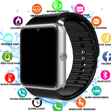 цена на 2019 Smart Watch GT08 Clock Sync Notifier Support Sim TF Card Bluetooth Connectivity Android Phone Smartwatch Alloy Smartwatch