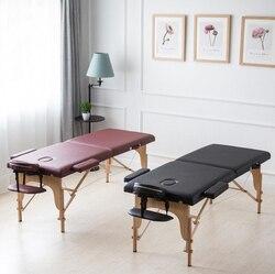 180*70 см Складная кушетка для массажа с футляром для переноски профессиональный спа массажные столы для красоты Портативная мебель для салон...