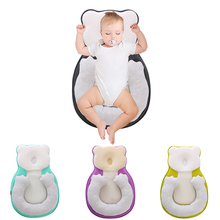 Baby Anti-roll Pillow Newborn Prevent Flat Head Infant Sleep Positioner Cushion for Toddler Baby Travel Bed Cradle Cot Babynest