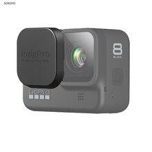 2 шт силиконовый защитный колпачок для объектива защитное покрытие из закаленного стекла чехол для Gopro Hero 8 Black аксессуары для экшн-камеры