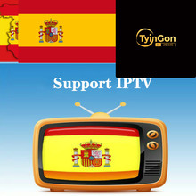 TyinGon android tv box Support Spain support spainish