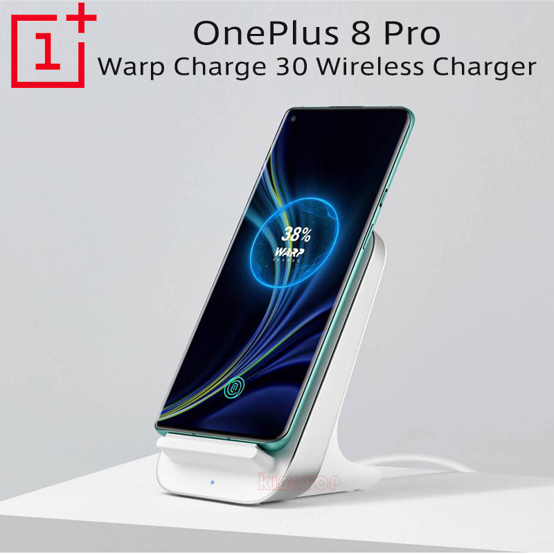 For original OnePlus 8 Pro smart phone OnePlus Wireless Charger OnePlus Warp 30W Wireless Charging Quick Charge OnePlus 8 Pro