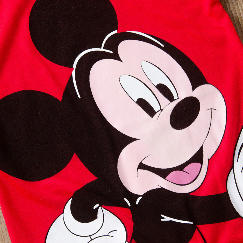 H9dd0d2afbc30455b99195d8e0db0e099U Newborn Mickey Baby Rompers Disney Baby Girl Clothes Boy Clothing Roupas Bebe Infant Jumpsuits Outfits Minnie Kids Christmas