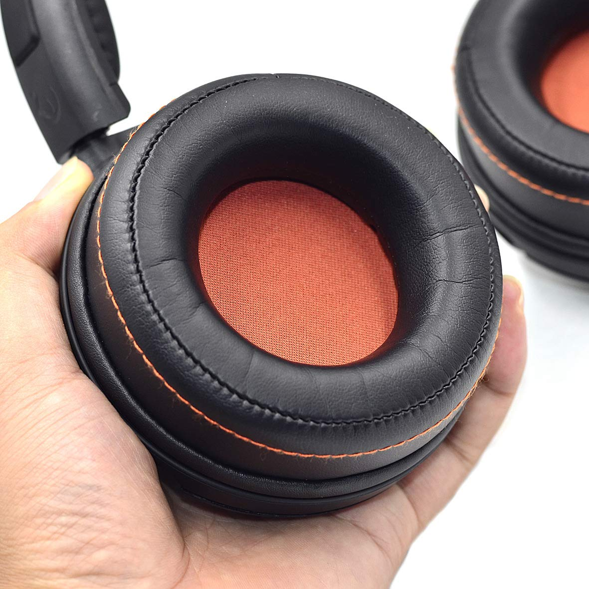 Replacement Earpads Ear Pads Cushion for <font><b>SteelSeries</b></font> <font><b>Siberia</b></font> 840 <font><b>800</b></font> Wireless Headset Dolby 7.1 Headphone image