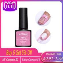Lemooc 8ml Anti-freezing Peel Off Nail Art Latex Cuticle Guard pink Cuticle Protector Nail Polish Manicure Nail Art Latex