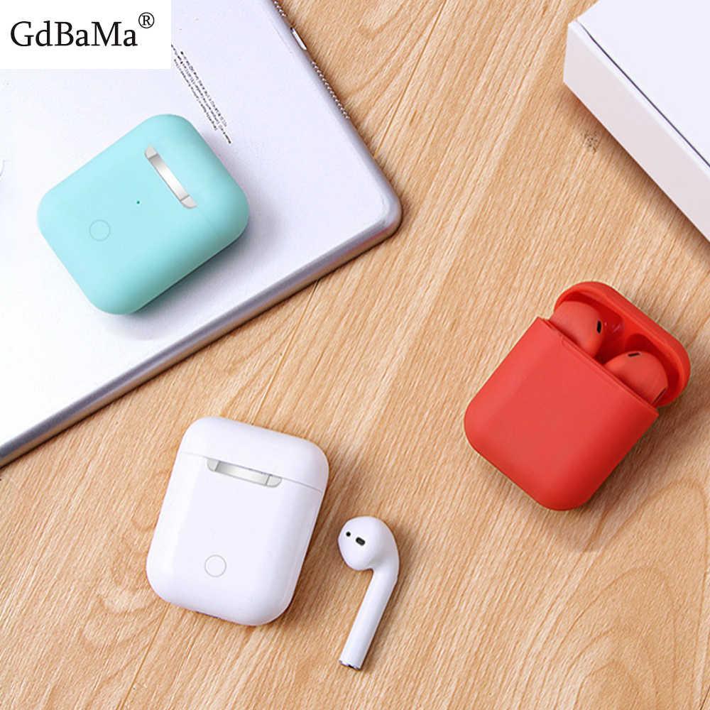カラフルな TWS I9s 5.0 Bluetooth イヤホン GdBaMa iphone のためのスマートワイヤレスヘッドセット 11 XR すべての Andriod 電話ボックス