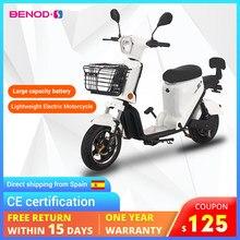 Bicicleta elétrica rápida de alta potência de poupança de energia da motocicleta moto ciclomotor da ue trans