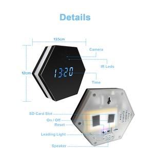 Image 5 - Hebeiros 2MP Batterij Wandklok IP WiFi Camera HD 1080P P2P Audio Nachtzicht Motion Detecion Smart Home CCTV monitor