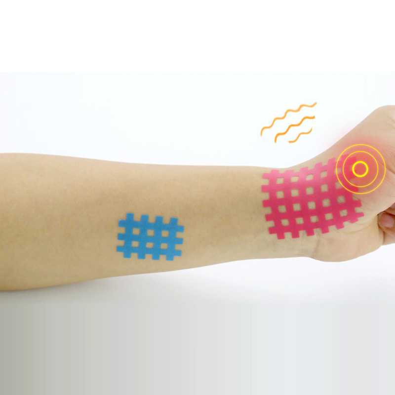 Spiral Kreuz Kinesiologie Band Wasserdichte Physio Band für Schmerzen Relief Muscle & Gemeinsame Unterstützung Beige Finger Knöchel Palm Schulter