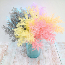 Colorful Artificial Pine Branches Fake Plants flowers Christmas Tree for Xmas Ornaments Decorations