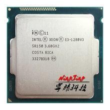 Intel xeon E3-1280v3 e3 1280v3 e3 1280 v3 3.6 ghz quad-core processador cpu de oito linhas l2 = 1 m l3 = 8 m 82 w lga 1150