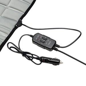 Image 4 - Cieplej podgrzewane siedzenie samochodu poduszka akcesoria wewnętrzne pokrowce na siedzenia samochodowe zasilanie zimowe elektryczny podgrzewany podgrzewacz
