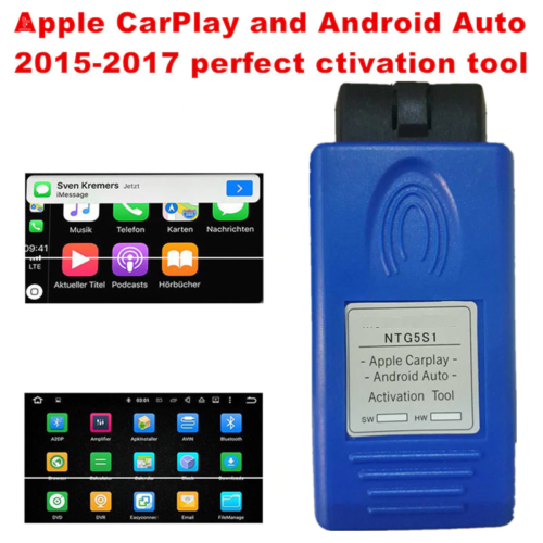 Unlimited Use Apple Carplay Android Auto Activation Tool For Mercede/Bens Car NTG5 S1 Ntg5s1