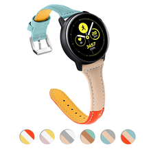 22mm watch band For Samsung Galaxy Watch 46mm correa Samsung Gear S3 Frontier strap huawei watch GT strap huami amazfit Bracelet watch band for 22mm samsung gear s3 real leather with silicone watch strap for huawei watch 2pro wrist belt for huami amazfit 1