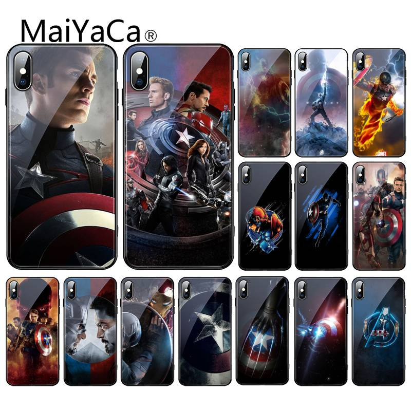maiyaca-marvel-captain-america-font-b-avengers-b-font-coque-glass-cover-phone-case-for-iphone-xr-xs-max-x-7-8-6s-plus-11-11pro-11pro-max-cover