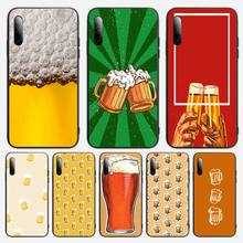 World Beers Alcohol Summer Bubble Phone Case For Samsung S note S10E 6 7 8 9 10 20 plus edge lite Cover Fundas Coque