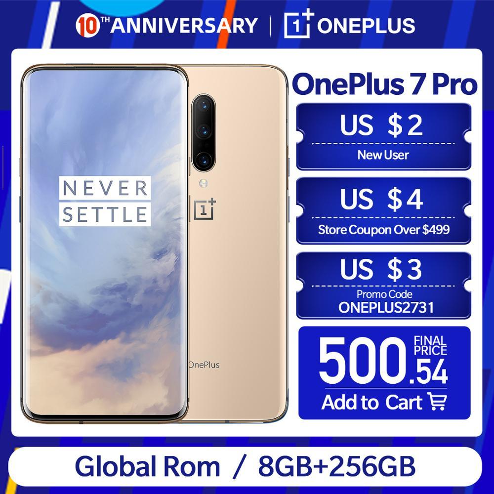 Nova rom global oneplus 7 pro 8/6/12 gb ram 128/256 gb rom 6.67
