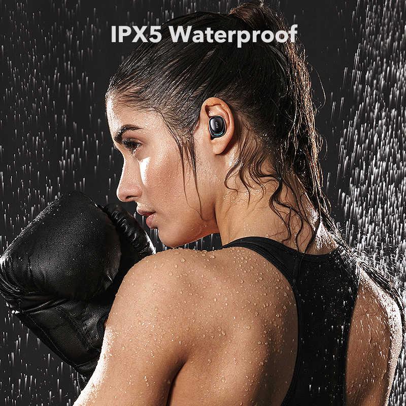 Mifa X8 TWS イヤフォンワイヤレス bluetooth イヤホンタッチコントロールステレオコードレスヘッドセット Iphone スマートフォン用電話充電ボックス