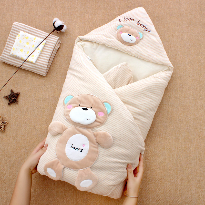Baby Sleeping Bag Pure Cotton Sleep Sack Soft Sleep Bag Anti Kick Quilt Sleeping Bags Infant For Autumn Winter Warm Sleepsack