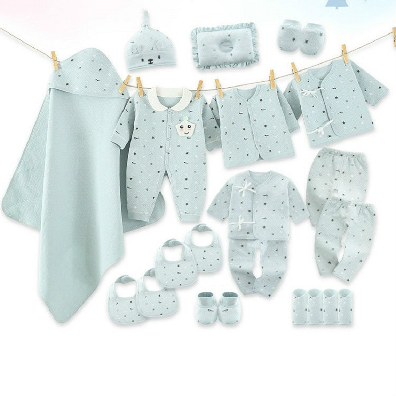 Baby Clothes Supplies Box Spring and Autumn Pure Cotton Newborn BABY Case-0-3 Month 6 Primary for Gift 'S First