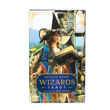 Barbara Moore Wizards Tarot Cards Deck Party Board Game Divination Oracle Playing Card PDF Guidebook