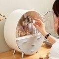 Настольная косметическая коробка для дома  ящик для выдвижного ящика  контейнер для туалетного столика  коробка для макияжа  ухода за кожей ...