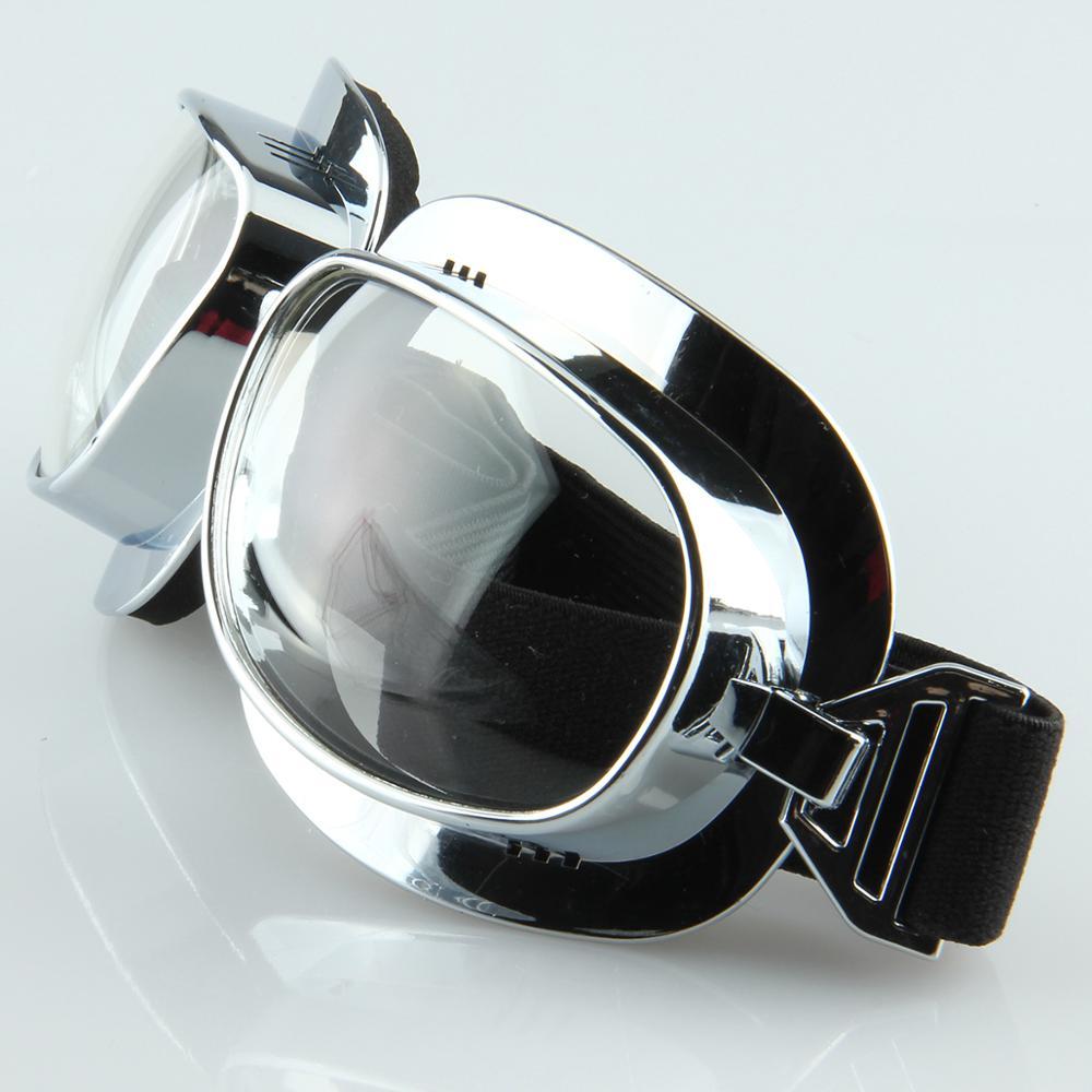 Motorcycle Goggles Biker Adult Eyewear ATV Glasses For Harley Vintage