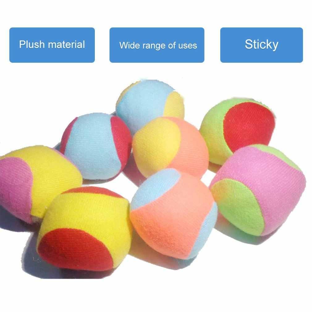 Çocuk atma yapışkan top hedef yakartop fırlatma topları eğitim oyunu oyuncak kapalı açık çocuk öğretim yardımcıları hediye