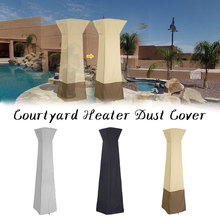 Patio-Heater-Cover Waterproof with Zipper Standup Outdoor Protects From-Snow-Rain-Dust