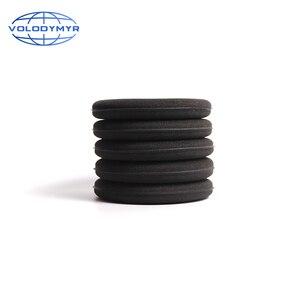 Image 3 - Limpeza rápida do carro da almofada de enceramento do diâmetro do preto 13 cm da esponja da cera de volodymyr para detalhar o cuidado automático do lavagem de carros limpo do detalhe