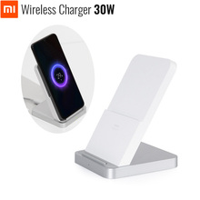 Original Xiaomi Stand Wireless Charger 30W Max For Mi 9 Pro (30W) MIX 4 2S / 3 (10W) Qi EPP Compatible Cellphone (5W) Multi Safe