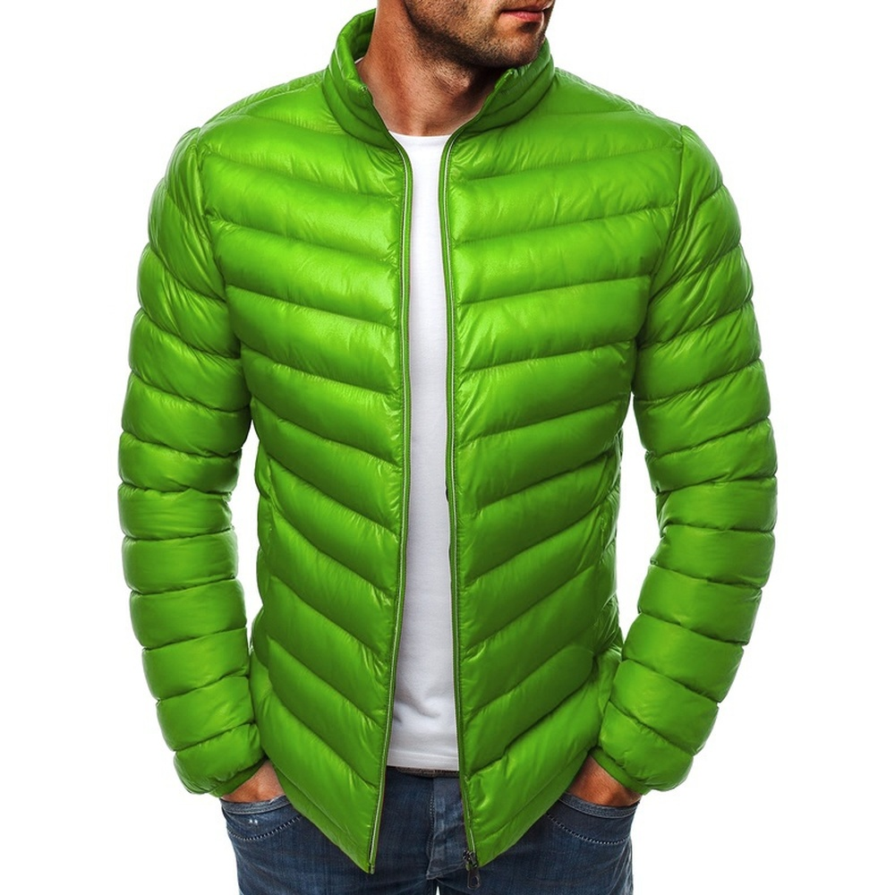 ZOGAA Men's Parka 2019 Autumn Winter Jackets Casual Puffer Coat Solid Color Zipper Slim Plus Size Man Jacket Winter Parkas Warm
