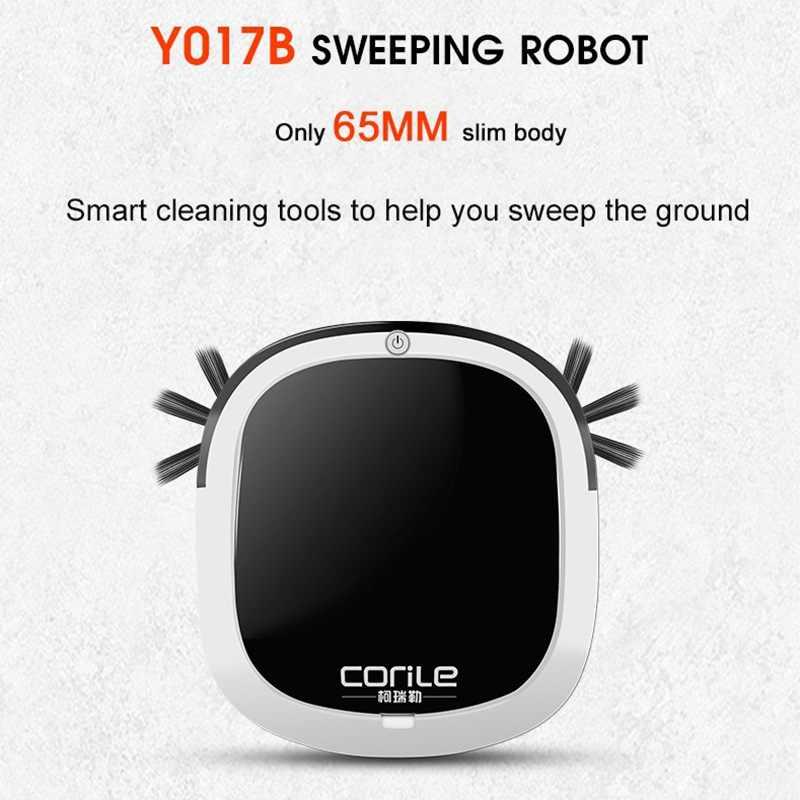 Робот пылесос развертки & влажная Швабра одновременно для твердых полов и ковра перед автоматическим зарядкой