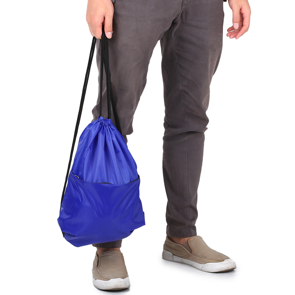 Drawstring Backpack Bag Outdoor Sports Gym Sack Pack Beach Travel Storage Bag  Waterproof  Bundle Pocket For Men Women Students