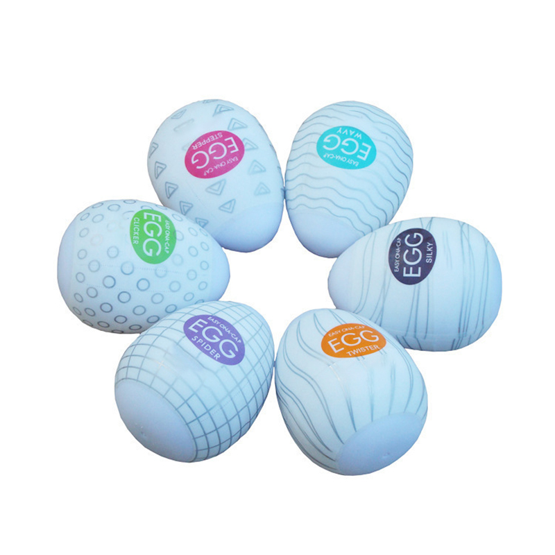 Easy Beat Egg Standard Package Mens Portable Pleasure Device Variety 6 Pack for Men.Six sold together