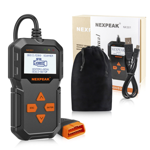 Image 5 - NX301 OBDII herramienta Universal de diagnóstico de automóviles lector de código Scanner herramienta de escáner de diagnóstico OBD2 herramienta mejor que ELM327 AD310