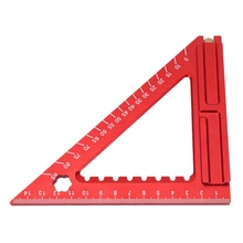 Carpenter Woodworking Triangle Square Tool Folding Measuring Frame Ruler T8DB