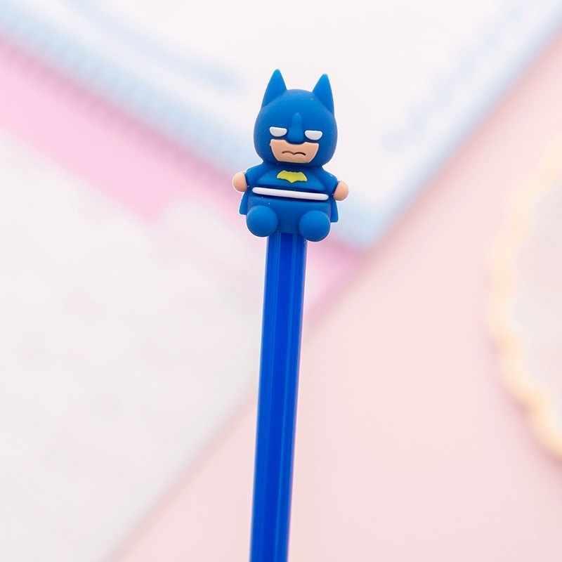 Ellen Brook 1 Stück Schreibwaren Niedlichen Cartoon Persönlichkeit Anime Hero Stift Gel Stift Schule Büro Kawaii Liefern Griffe Kreative Geschenk