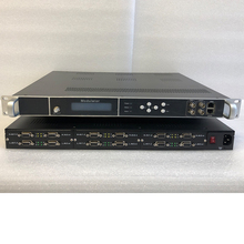 24-channel standard definition coded modulator AV audio and video to radio frequency (DVB-T / C / ATSC / ISDB / DTMB) / IP / ASI