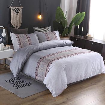 Denisroom Duvet Cover Luxury Bedding set New Year Double Bed Comforters Linen Queen For Adults Bed set Bedspread XY14#