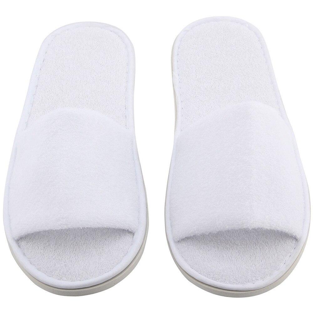 Slippers open toe towel indoor disposable slippers 1
