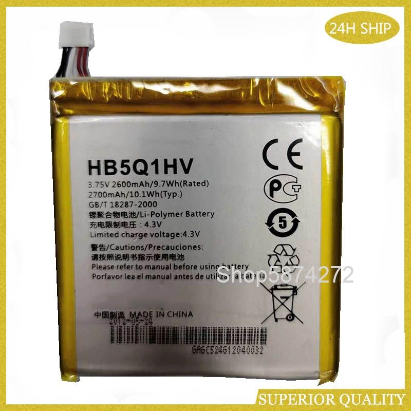 2700mah battery For Huawei Ascend P1 XL T9510E U9200E U9200S D1 quad XL U9500E T9510E U9510E T9510E HB5Q1HV Battery(China)