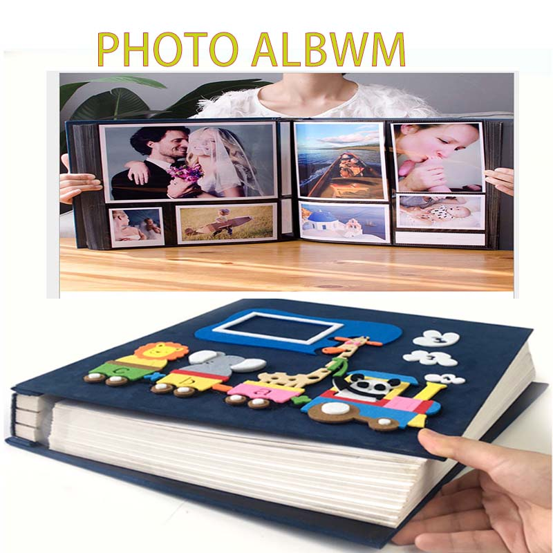 DIY Photo Album Birthday Large Capacity Child 5 6 Inch 600  Photo Album Page Type Children Family Insert Album Creative Cartoon